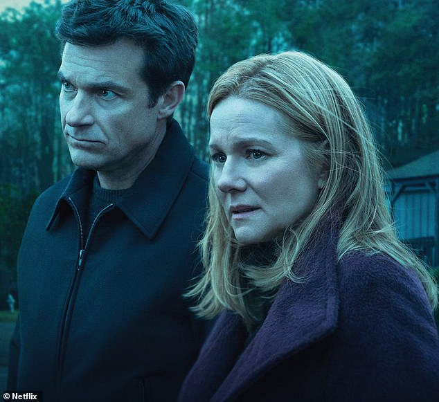 End of the road:The dark Netflix drama Ozark will end after its fourth season; Jason Bateman and Laura Linney are pictured on the series