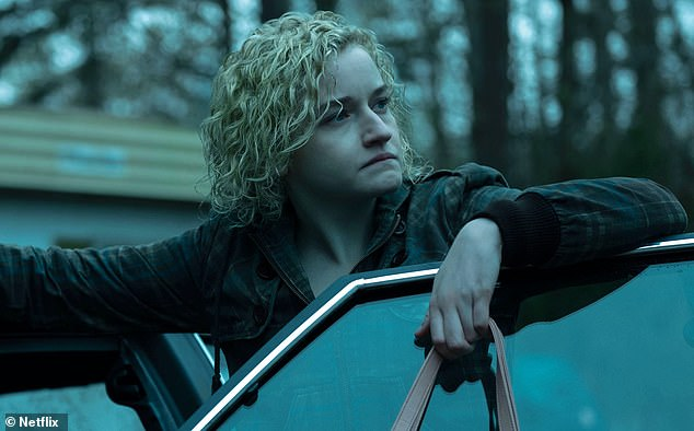 Feted: Julia Garner (pictured) has won an acting Emmy for the program, which has also scored nominations for Jason and Laura as well as for best drama series
