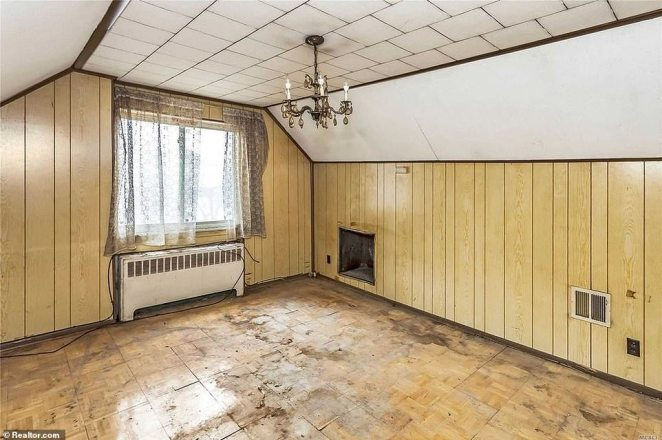 Tear it down: The house is certainly not livable in its current condition