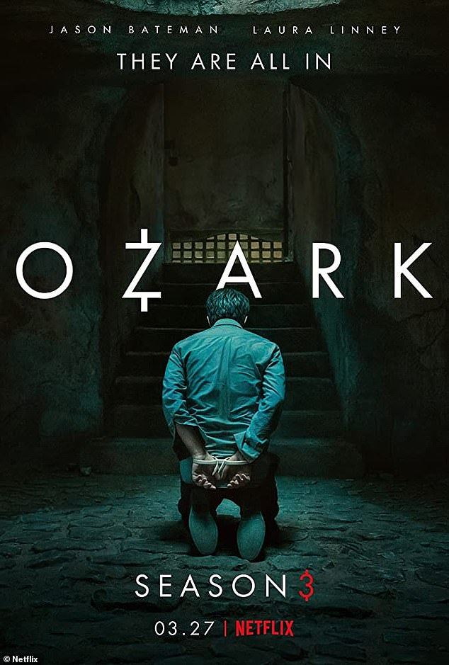 'They are all in':Created by Bill Dubuque and Mark Williams, Ozark dropped its first season on Netflix in 2017 and its latest this March