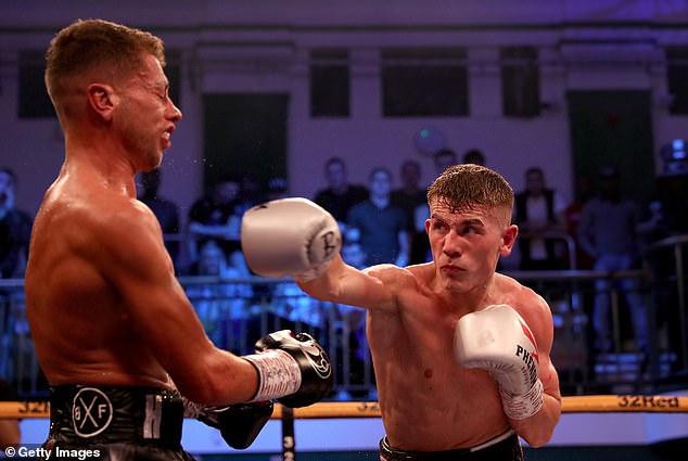 Brad Foster's (right) bout with James Beech is set to be held at BT Sport's studios in Stratford