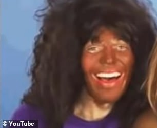 Dawson is seen in blackface in old clips he had posted to his YouTube page