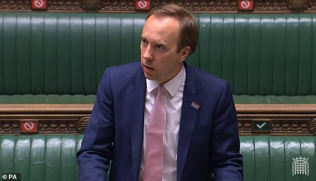 Matt Hancock announced that all non-essential businesses in Leicester would have to close