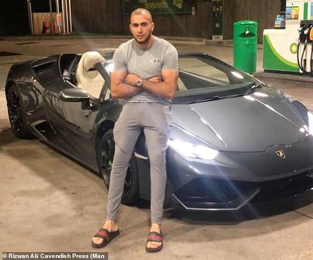 Police tested car valeter Ali, from Heaton near Bolton, two hours after the crash and found he had been smoking cannabis and snorting cocaine in the hours. He was under the limit for both drugs but was almost eight times the limit for benzoylecgonine (BZE)