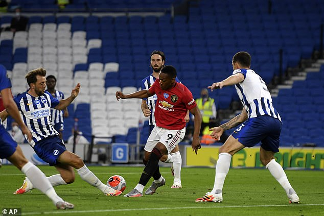 Martial is now a key Manchester United player this season in the Red Devils' attack