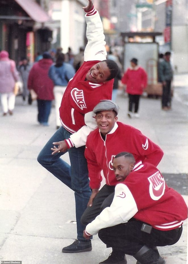 Above, three young men sport red Nike jackets in Harlem in 1988. In 1989, Mayor Koch lost to David Dinkins. The Central Park Jogger case, in which a white woman was violently beaten and raped while on a run in April 1989, rocked the city. Five young black teenagers went to prison for the rape but all were later exonerated. David Dinkins, who served from 1990 to 1993, was the city's first black mayor