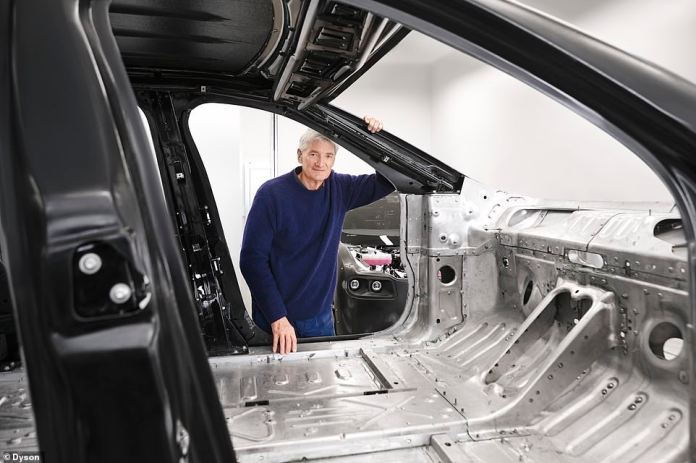 Despite the project's failure, Sir James Dyson said the canceled electric car was not the end of