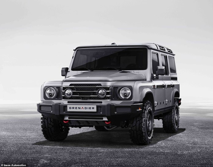 As of launch, the Grenadier will be powered by 3.0-liter BMW gasoline and diesel engines, but an electric hydrogen version will follow