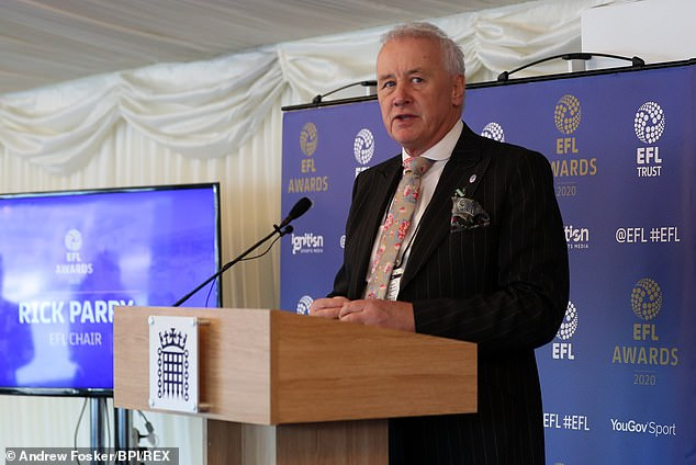 EFL chief executive Rick Parry has warned of a £200million black hole in club's finances