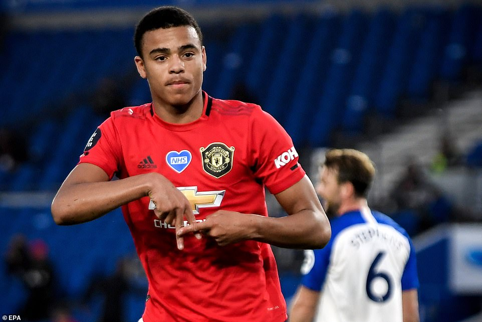 Teenage striker Mason Greenwood opened the scoring on 11 minutes with a well-taken strike for the visitors
