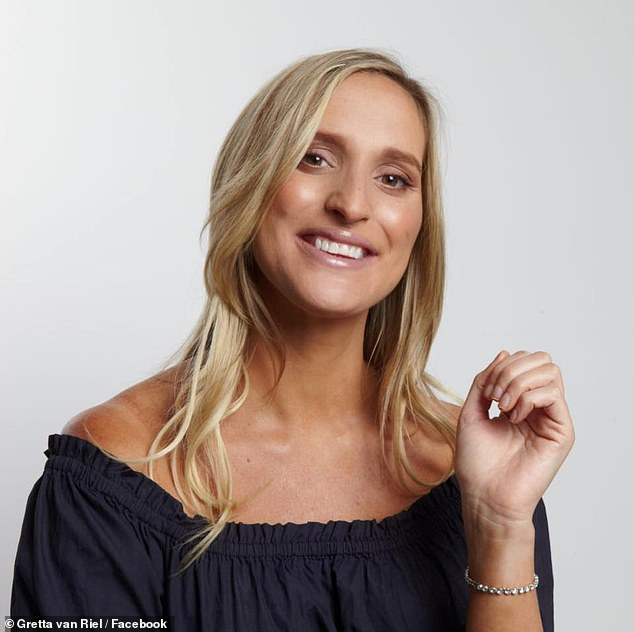 Gretta van Reil (pictured)who has no previous business experience has shared how she launched a tea brand at the age of 22 with only $24 in her bank account