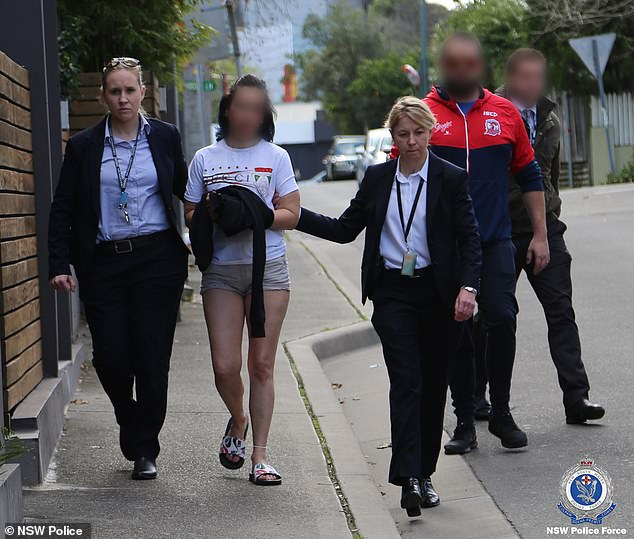 Stacey Kelly was arrested in Kingsford in Sydney's east (pictured) on Tuesday afternoon over the alleged bashing