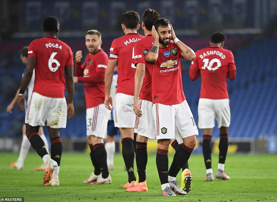 Manchester United were in devastating mood as they recorded yet another victory in the Premier League