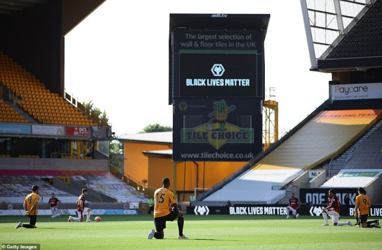 Players want to distance themselves from the official Black Lives Matter organisation