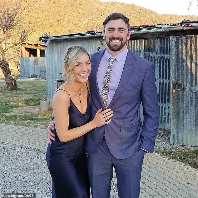 Search for love: Sam became Australia's first Bachelorette in 2015 and went on to date winner Sasha Mielczarek for 18 months before splitting then in July 2017 Sam confirmed that she was dating Dave
