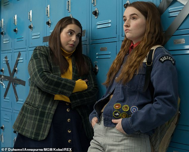 Directing chops: Wilde received critical acclaim for her feature debut Booksmart that was released in 2019, pictured. For her follow-up, she'll helm the thriller Don't Worry, Darling