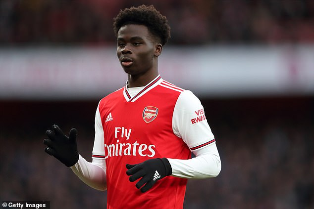 Arsenal are ready to offer teenage star Bukayo Saka a new long-term contract