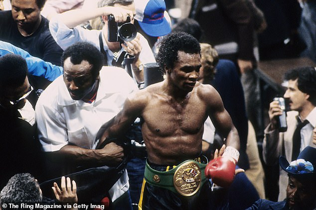 Leonard faced Roberto Duran three times and won two of those fights, including this in 1980