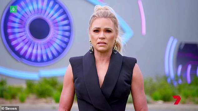 Must-see TV:Big Brother Australia continues Sunday at 7pm on Channel Seven. Pictured: host Sonia Kruger
