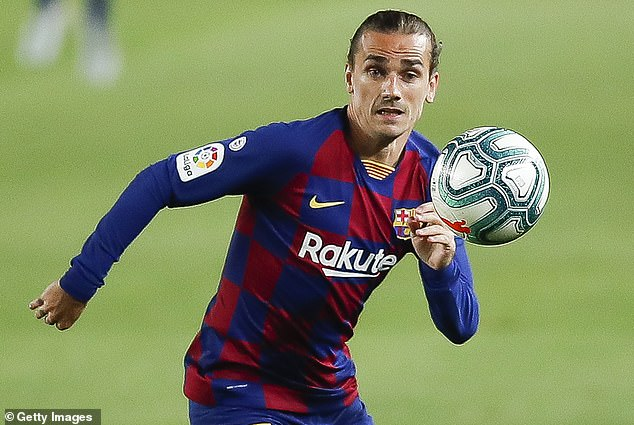 Lasarte said struggling Griezmann has been 'running without much sense' on the pitch