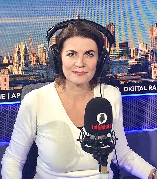 This week broadcaster Julia Hartley-Brewer claimed she took three cars in one day and only one of her drivers was wearing PPE