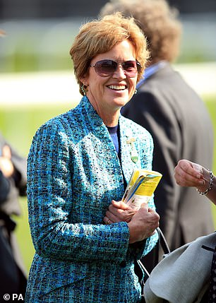 Mrs Paterson was the chairman of Aintree Racecourse