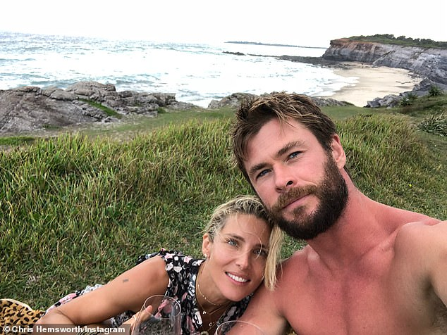 A-list pals! According to The Daily Telegraph , the High School Musical star is relaxing in Byron and hanging out with the likes of Thor star Chris Hemsworth, 36, (pictured with wife Elsa Pataky) and Australian musician Tim Freedman, 55