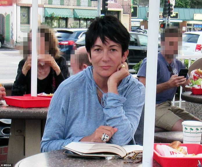 Ghislaine Maxwell, presented last August - the last time she was seen publicly - was arrested Thursday morning