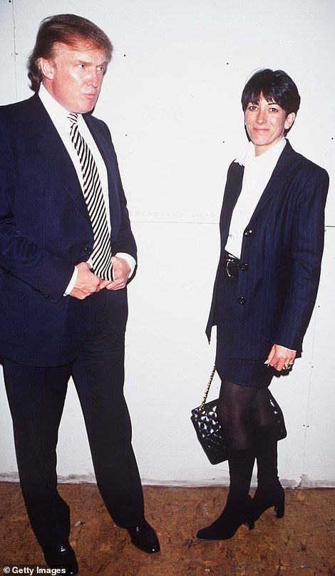 Socialite born in France, 58 years old, spent decades in the most exclusive parties, photographed with artists like Donald Trump, photographed in 1997 together, and Prince Andrew and private jets with Bill Clinton