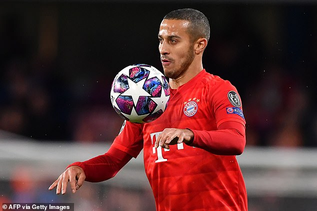 Liverpool are reportedly in advanced negotiations with Bayern Munich for Thiago Alcantara