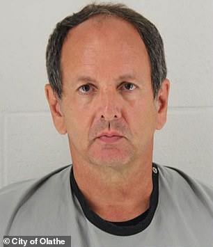 James Loganbill, 58, a 31-year veteran teacher from Olathe, Kansas, was arrested last month on a charge of reckless stalking targeting a 10-year-old student by allegedly photographing her