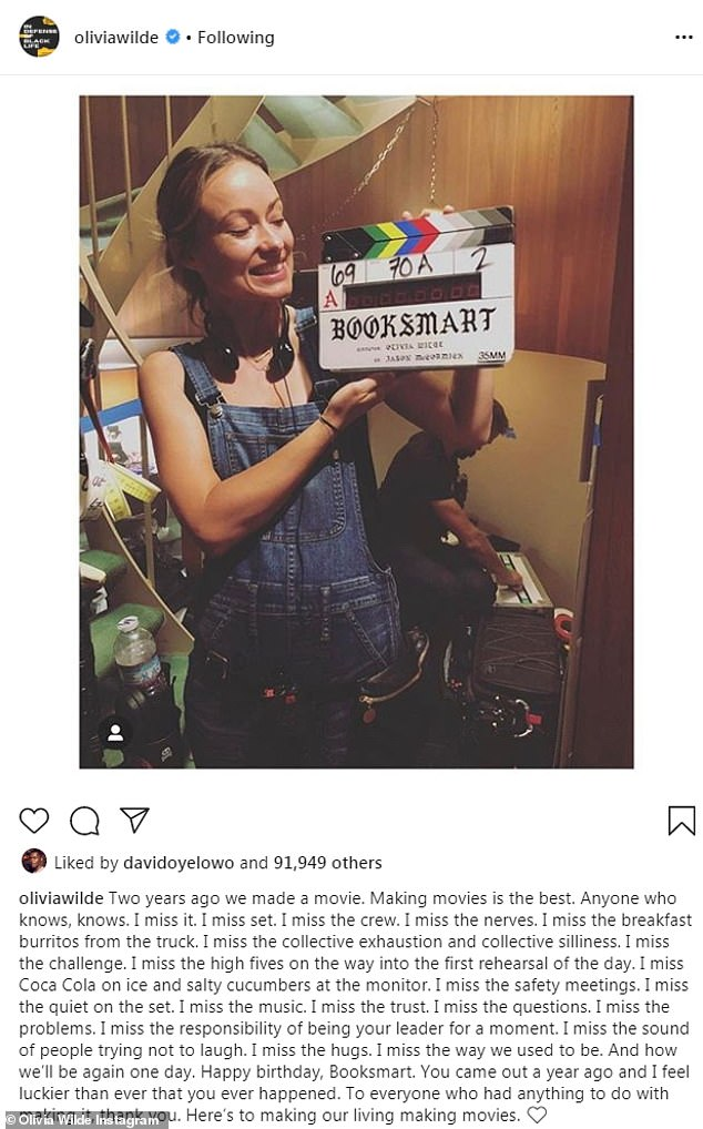 Lights, camera, action! In addition to acting, Olivia made her directorial debut with the critically-acclaimed comedy, Booksmart, which was released last year