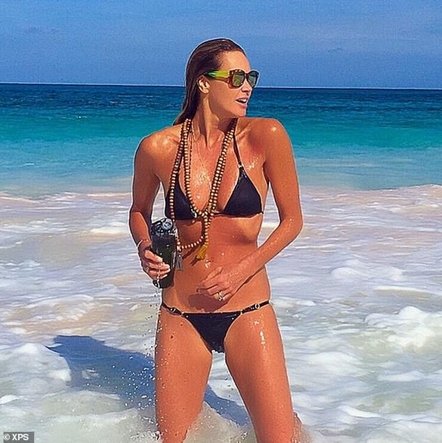 'The Body' Macpherson, 56, says she is not worried about aging or how she looks, but is `` much more interested '' in her well-being