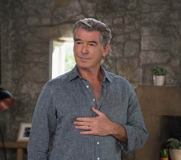 Pierce Brosnan says that once you've played Bond, he defines you forever.  But this is not true for Brosnan, like his