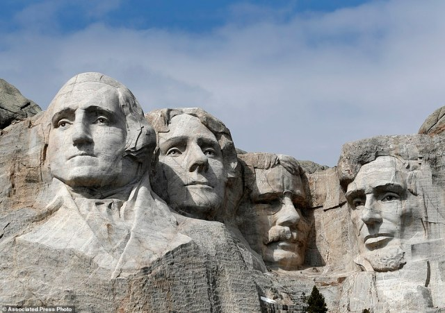 Some Native American groups used Trump's visit to protest the Mount Rushmore memorial itself, pointing out that the Black Hills were taken from the Lakota people