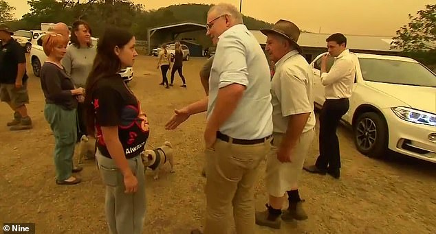 One local woman from Cobargo famously refused to shake Prime Minister Scott Morrison's hand during the bushfire crises until he offered more support to volunteer firefighters