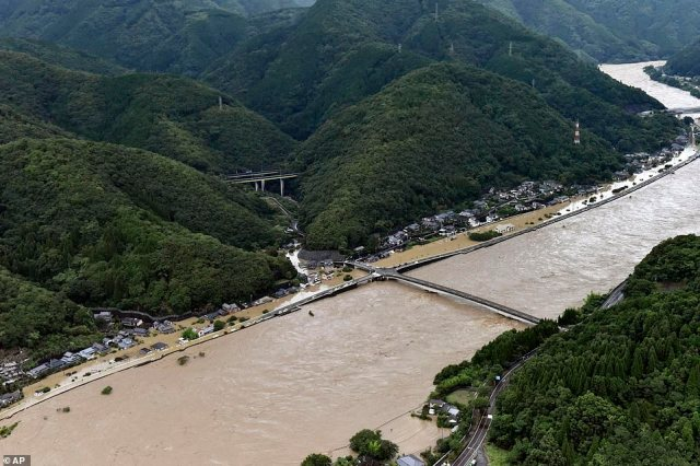 Japan is currently in its rainy season, which often causes floods and landslides and prompts local authorities to issue evacuation orders