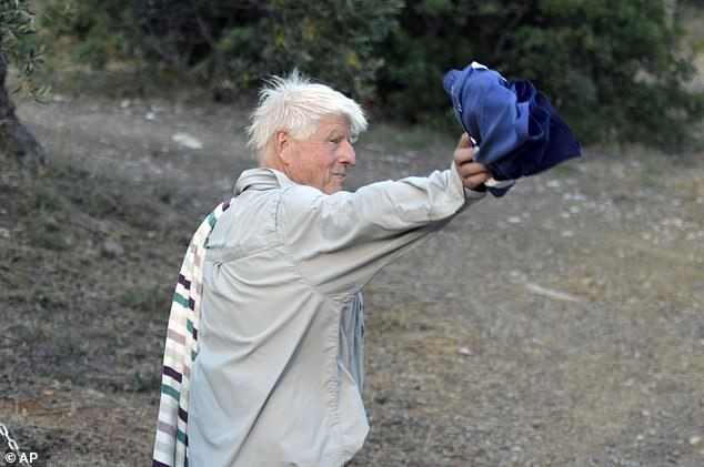 Hunted by local and international media in Pelion, a visibly pissed off Mr. Johnson said he was unaware of the outcry in Britain over his theft