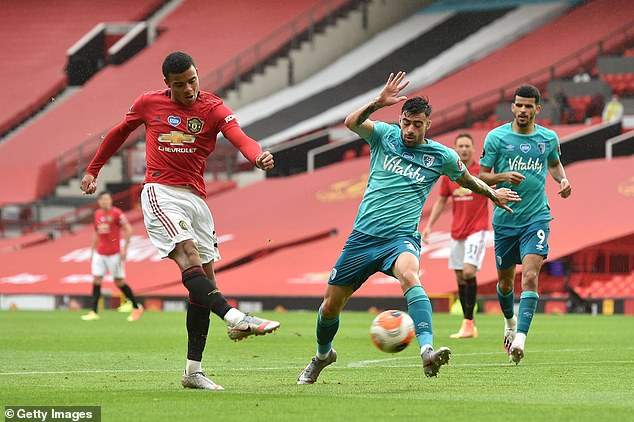 Greenwood has shown extremely encouraging signs for Solskjaer's team during this season