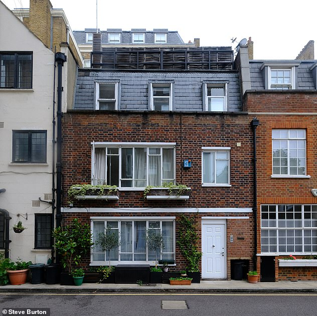 The Mail on Sunday understands that the socialite owned the property (pictured) in the mid-1990s when US prosecutors say the girl was abused at Maxwell's 'personal London residence'