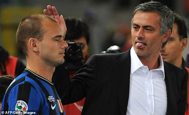 Wesley Sneijder revealed how Jose Mourinho guided Inter Milan to a breathtaking season
