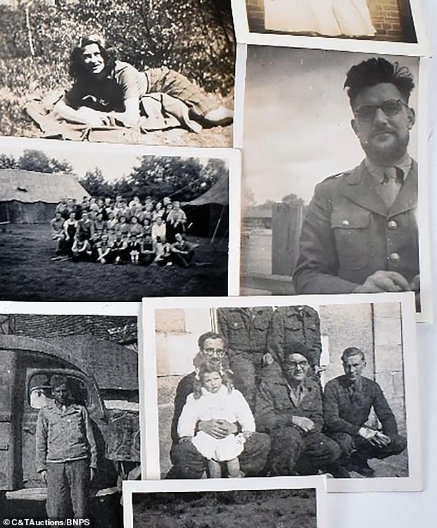 Mr Spray returned to England in 1944 in time for D-Day and worked as a headmaster of school in Berkshire before passing away in the 1980s