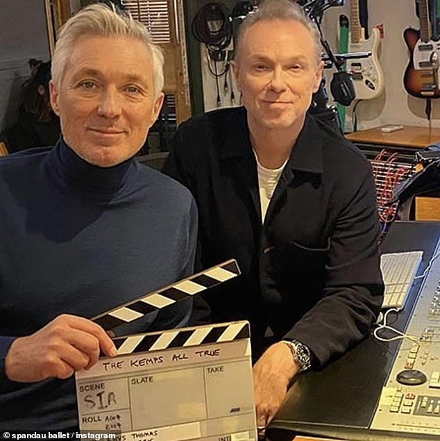 Yes!  The singer said of Martin and Gary Kemp's decision to go ahead with the infamous Bold washing powder, that it was done in