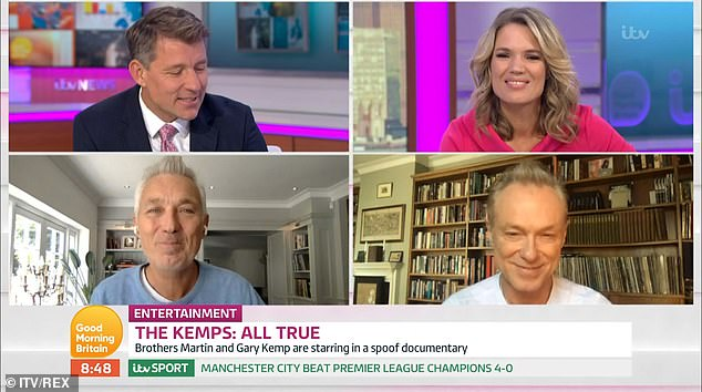 Opening: Gary and Martin spoke about the fake documentary in a recent interview on Good Morning Britain