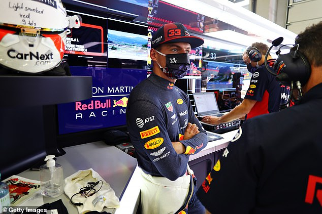 Max Verstappen did not take the knee but engaged in the fight against racism