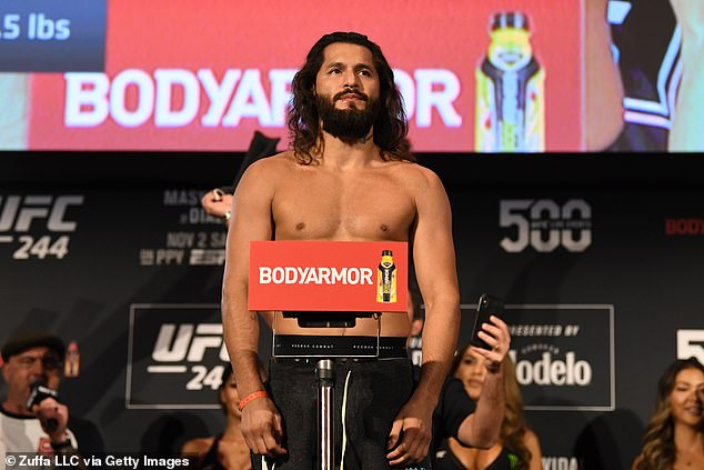Jorge Masvidal has revealed he needs to shift 20 pounds to make the weight limit for UFC 251
