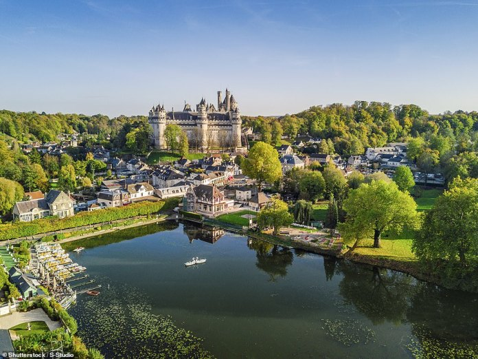 5th - Pierrefonds, a village in the north of France best known for its castle, which
