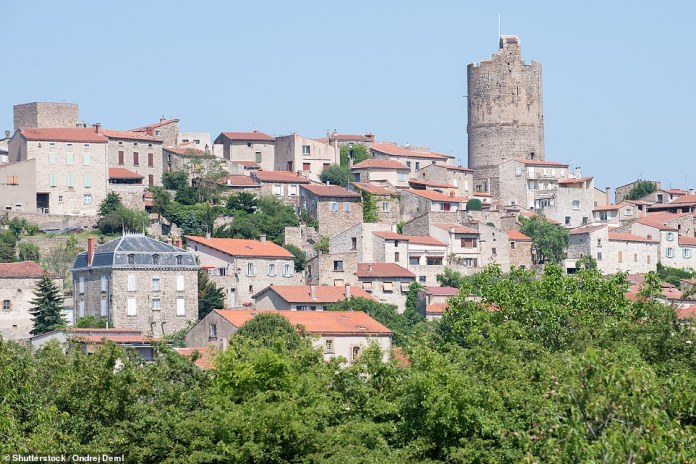 8th - Medieval Montpeyroux in Auvergne-Rhône-Alpes, south-eastern France. The show says it is `` one of the most beautiful villages in France '' and strongly recommends enjoying the view from the top of its old tower (photo)