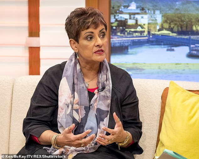 Nadra Ahmed (pictured in 2017), president of the National Care Association, said that Mr. Johnson's remarks were