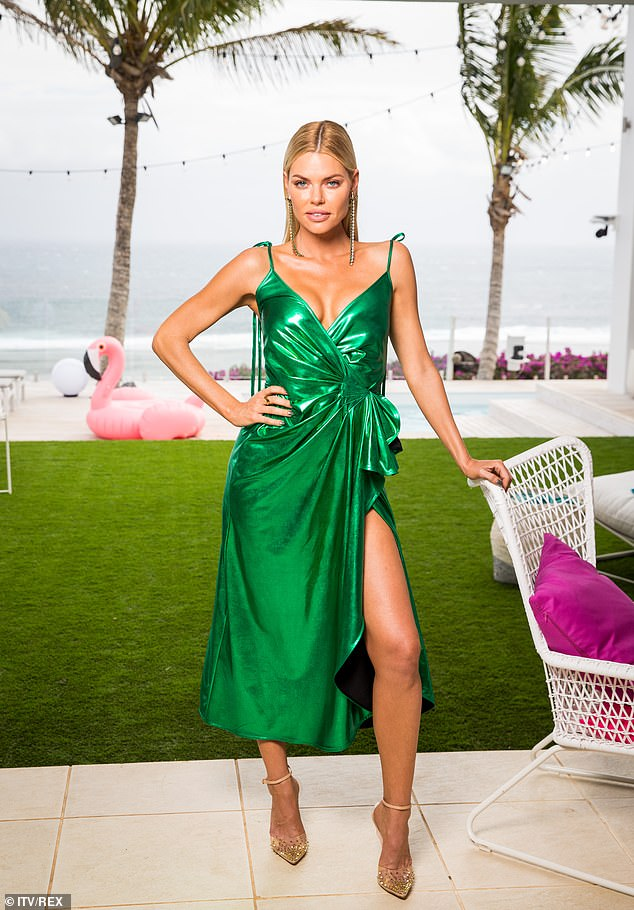 Love Island Australia host Sophie Monk (pictured) has listed her $1.1m Gold Coast love nest for rent at $1,200-per-week as she moves interstate with boyfriend Joshua Gross